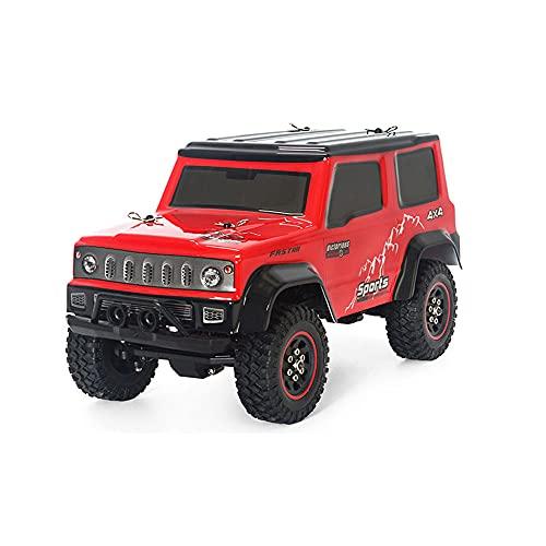 QHYZRV 1:18 Tee 4WD Coche de escalada Plástico Metal Componentes electrónicos 2.4GHz Coche de control remoto recargable RC Racing Coche de juguete de control remoto Coche de juguete educativo para niñ