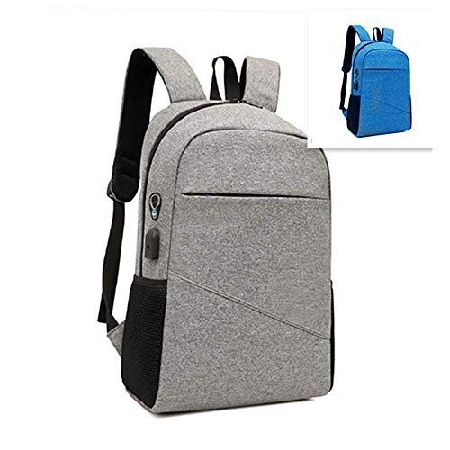 KABINA YM 79 plecak rekreacyjny, koreański, czarny, do laptopa, ochrona przed kradzieżą, wielofunkcyjny, odpowiedni do biura, podróży, klasy, itp. (szary), unisex dla dorosłych, M