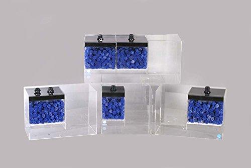 E-Shopps eshopps aeo13015Holz 125ohne Überlauf Filter für Aquarium