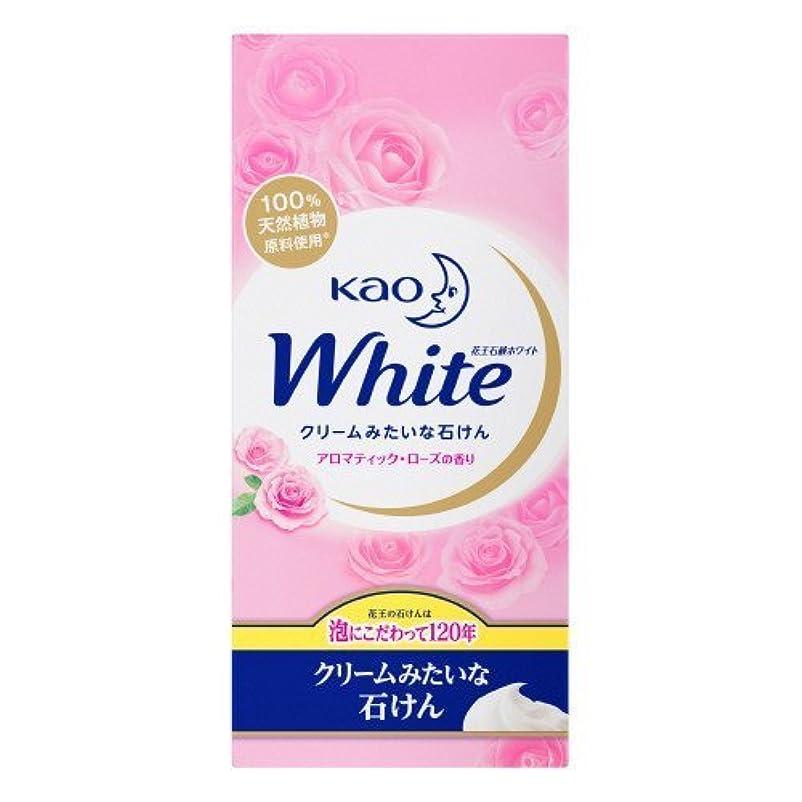 悪因子ダーベビルのテス仲人【花王】花王ホワイト アロマティックローズの香りレギュラーサイズ (85g×6個) ×5個セット