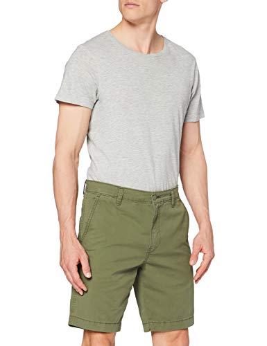 Levi's XX Chino Taper Short II Pantaloncini Casual, Bunker Olive Light WT Microsand Twill Ccu B, 34W Uomo