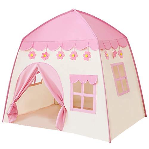 "BEILIHART Kids Tent & Playhouse,51""x51""x39"" Princess Castle Play Tents ,Pink Kids Tent..."