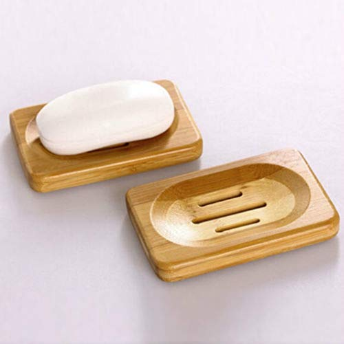 Best Quality 1pcs Natural Bamboo Wood Bathroom Shower Soap Tray Storage Holder Plate, Natural Dish Soap - Bamboo Soap Dish Wholesale, Soap Dish, Bathroom Tray, Bamboo Soap Dish, Shower Soap Dish