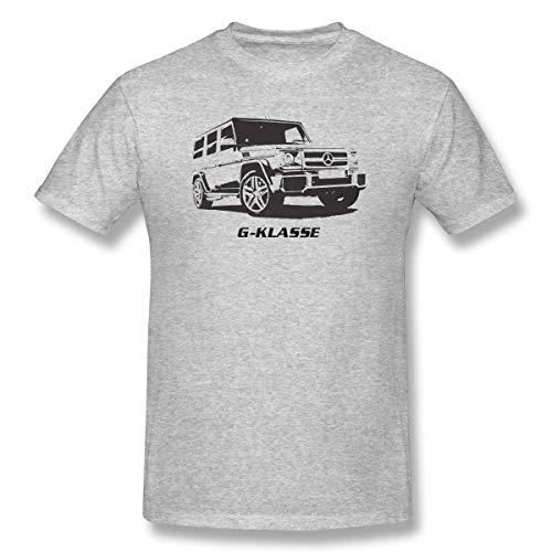 Zoopasa OG - Mercedes Benz AMG G55 G-Wagon (G-Class) Inspired Unisex T-Shirt,Gray 03,Small