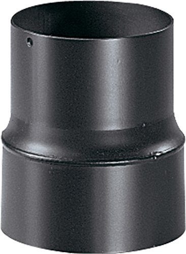 Articolo fumisteria Linea 'Legna' per canna fumaria: riduzione, diametro 130 mm maschio, diametro 120 mm femmina