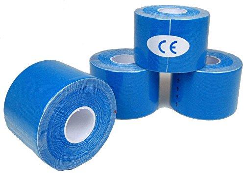 Physiotape Sport Klebeband Sporttape Stutzentape Tapeband 10x 5m x 5cm rosa blau