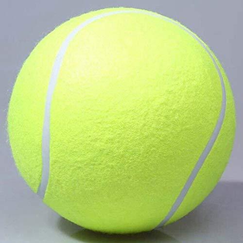 Egurs Tennisball,9.5 Zoll/24cm Groß Riesen Tennis Ball Hundespielzeug für Sport Pet Spielzeug