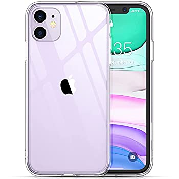 Temdan Clear Case Designed for iPhone 11 Case [Not Yellowing] [Scratch Resistant] [Military Grade Drop Tested] Shockproof Protective Phone Case Slim Thin Cover for iPhone 11 6.1 inch  Clear