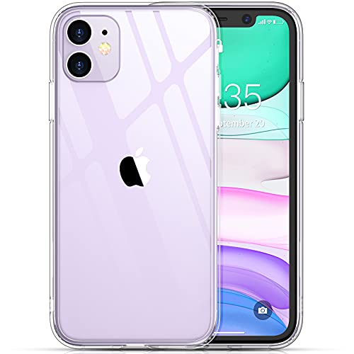 Temdan Clear Case Designed for iPhone 11 Case, [Not Yellowing] [Scratch Resistant] [Military Grade...