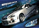 The Fast and the Furious 2 Poster Nissan Skyline (101,5cm x