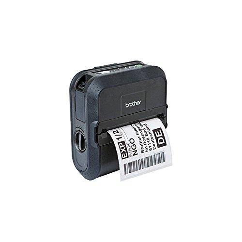 Brother RJ4030 - Impresora portátil de Etiquetas y Tickets de hasta 4 Pulgadas de Ancho (conexión USB y Bluetooth)