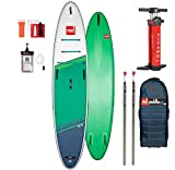 Red Paddle Co 12.6' Voyager Touring Stand Up Paddle Sup Board mit V-Hull 380x81cm