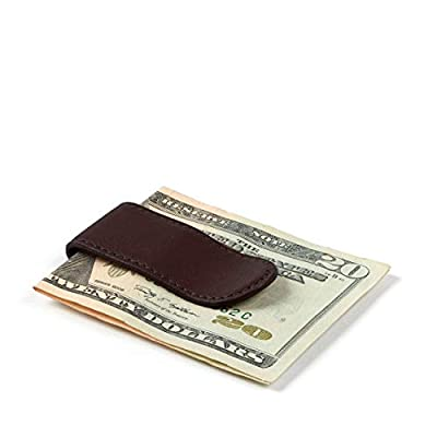 Leatherology Brown Men's Money Clip