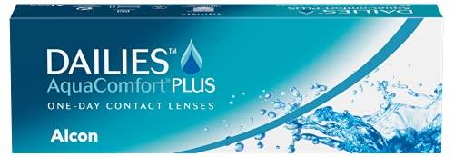 DAILIES AquaComfort Plus 1-Tages-Kontaktlinsen, 30 Stück, BC 8.7 mm, DIA 14.0 mm, -3.25 Dioptrien