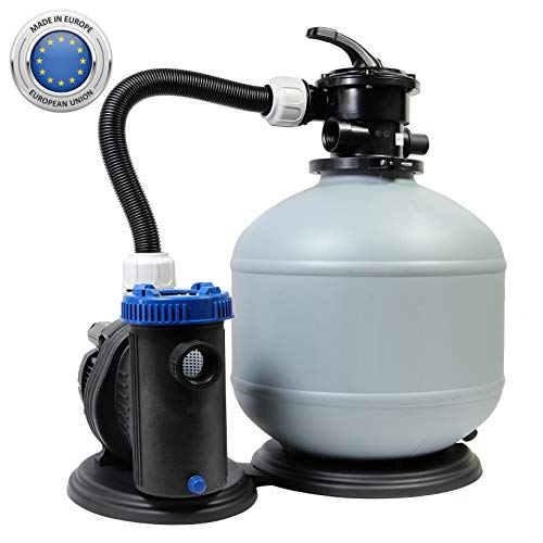 Sandfilteranlage 470/8 Pool Schwimmbecken Sand Filter Filteranlage Pumpe 8m³/h SHOTT International