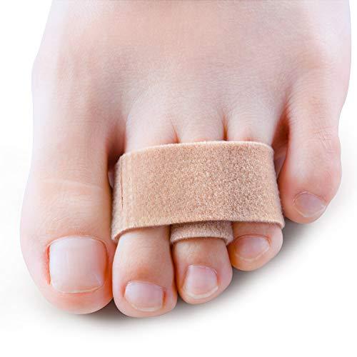 Sumiwish [8x] Hammerzehen Zehenbandage,Hammerzehen Korrektor Zehenschiene zu korrigieren Hammerzehe, Gekrümmte Zehen, Uberlappende Zehen