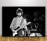 YOUCAIHUA Kunstplakat Eric Clapton Musiksänger Poster und