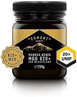 Egmont Honey Miel de Manuka 820+ MGO original de Nueva Zelanda UMF 20+ -