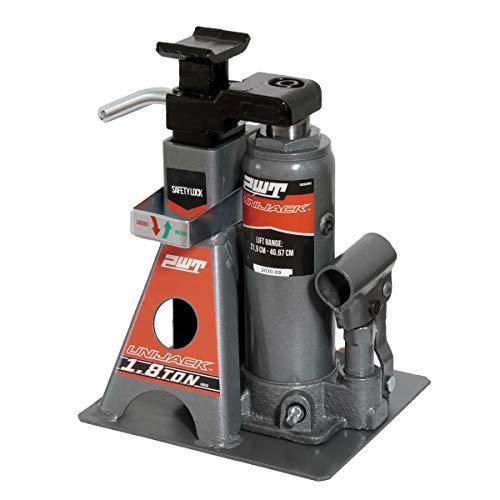 PWT 油圧ボトルジャッキ ジャッキスタンド 2in1 1.8t ジャッキアップ タイヤ交換 オイル交換