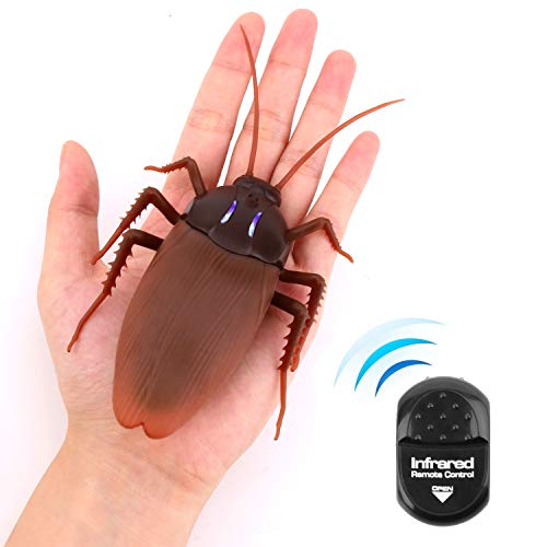 ラジコン ゴキブリ リアルに動く 子供用 電池式 面白いグッズ リモートコントロール 昆虫 おもちゃ キッズ トリック いたずらをする プレゼント おもしろグッズ 雑貨