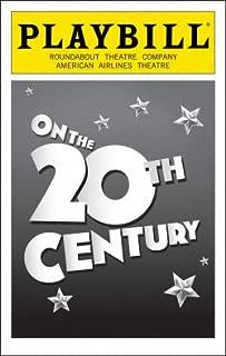 Playbill: On the 20th Century; Feb 2015