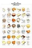 1art1 Käse - Käse Aus Frankreich XXL Poster 120 x 80 cm