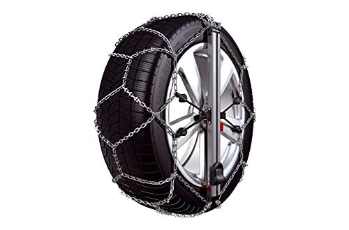 Konig Easy Fit SUV – Cadenas de nieve de 10 mm, grupo 250, tamaño 245/70 R16 – Compatible con SUV, se montan en 12 segundos – Homologadas