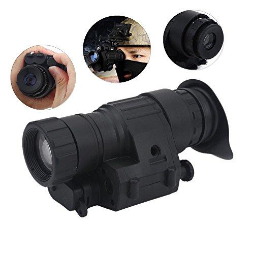 Tbest Visione Notturna Binocolo Monoculare Videocamera A Infrarossi Impermeabile Infrarossi Ir Fotocamera Monoculare Visione Notturna Fotocamera per Casco