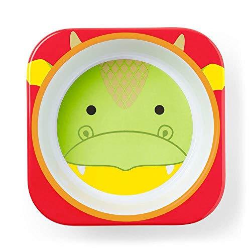 Skip Hop Cuenco para niños, zoológico, dragón