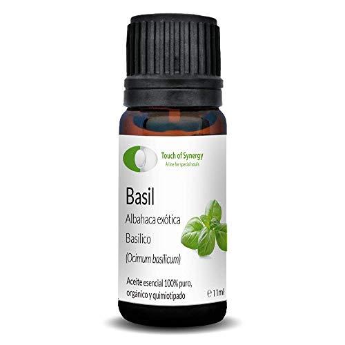 Etherische olie van exotische albahaka-olie (cimum basilicum), 100% puur, organisch en chemotherapeut (10 ml).