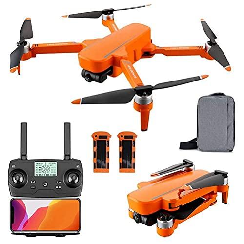 Drones Quadcopter con Motor sin escobillas, Drone GPS con cámara HD de 6K para Adultos, con Tiempo de Vuelo de 60 Minutos, transmisión FPV de 5 GHz, cardán autoestabilizador de 2 Ejes (2 Bat