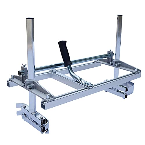 Portable Chainsaw Mill Planking Milling From 14'' to 36'' Guide Bar Chainsaws Chain saw tools