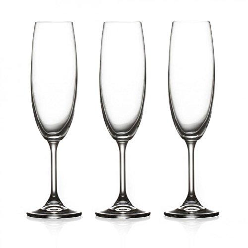 Secret de Gourmet - Lot de 3 Flûtes à Champagne\