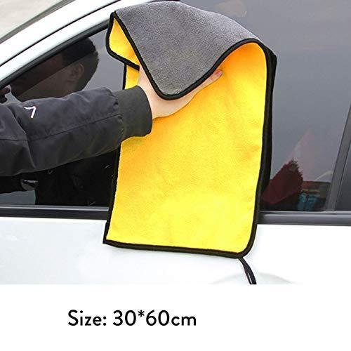 Mdsfe autowashanddoek microvezel wasmiddel droogdoek handdoek sterk dik pluche a62 30x60 Cm-a62