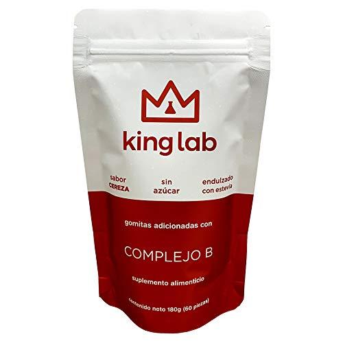 King Lab Gomitas con Complejo B (B6, B9, B12)