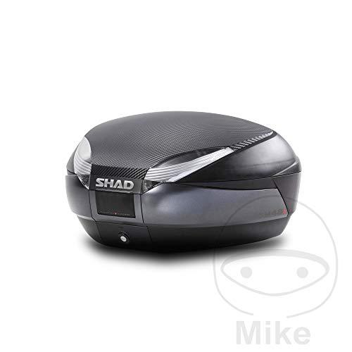 SHAD - D0B48106R : Baul maleta SH48 gris + tapa + respaldo