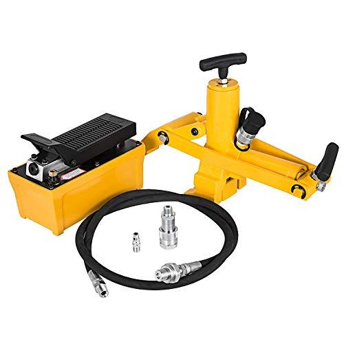 Bisujerro Tractor Camión Neumático Cambiador Hidráulico Interruptor Talón Bomba Pie de 10000 PSI Manguera Aire Desmontadora de Neumáticos Cambiador de Neumáticos