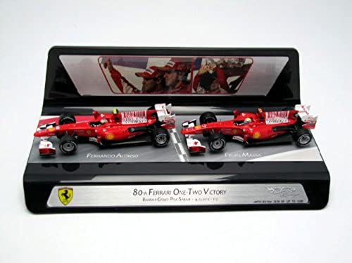 Hotwheels v7423 Auto Miniatur Racing (MATTEL) fürari F10 F1 10 GP-Bahrain 2010 Ma ab 1 43