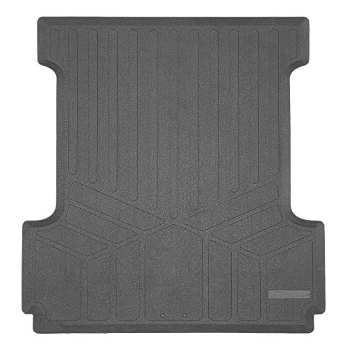 SMARTLINER K0167 Truck Rugged Rubber Bed Liner Mat for 2015-2020 Ford F150 SuperCrew Cab F-150