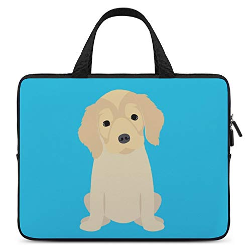 Universal Laptop Computer Tablet,Case,Cover for Apple/MacBook/HP/Acer/Asus/Dell/Lenovo/Samsung,Laptop Sleeve,Color for Dog Mammal Canidae Golden Retriever,12inch