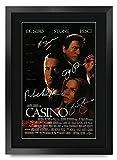 HWC Trading Casino A3 Gerahmte Signiert Gedruckt Autogramme