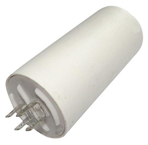 AERZETIX: Condensatore permanente di lavoro per motore 50µF 450V con capicorda 6.3mm C18688