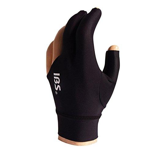 IBS Unisex-Adult Manuel Gil Handschuh Billard Glove Pro Black 1-Size, One fits All