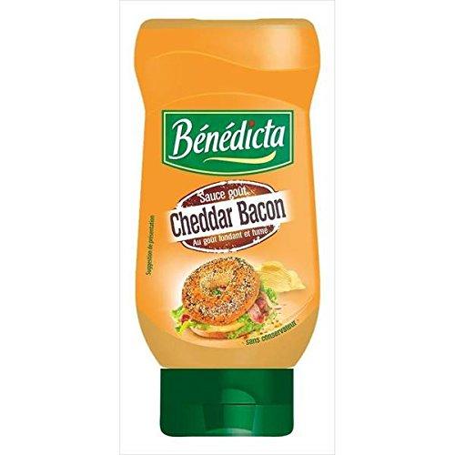 Bénédicta Pancetta Cheddar Bottiglia Di Salsa 420G (Prezzo Per Unità) Spedizione Veloce E Ordinato