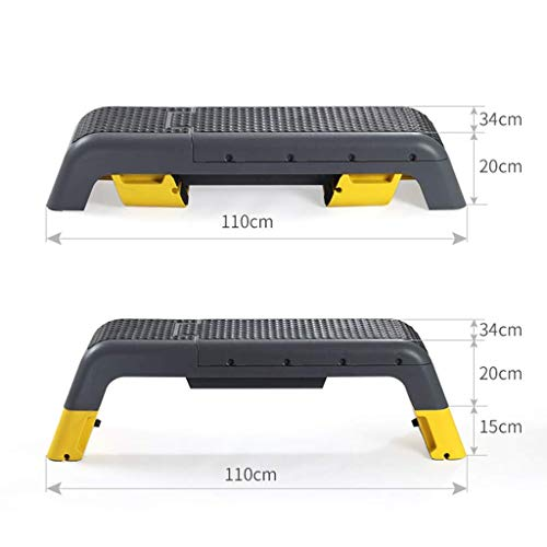 EAHKGmh Workout Platform Dumbbell Bench Supine Board Multifunctional Fitness Equipment Professional Aerobic Deck Maximum Load 220 lbs
