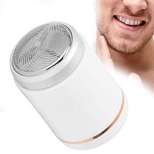 Afeitadora eléctrica, compacta y portátil, potente, ligera y pequeña, con un diseño especial para hombres