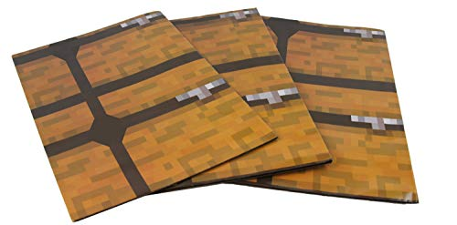 Treasure Chest Pixel Style Wrapping Paper, Birthday Party Supplies for Pixel Gamer Themed Parties and Stocking Stuffers - Party Supply for Wrapping Boxes and Accessories