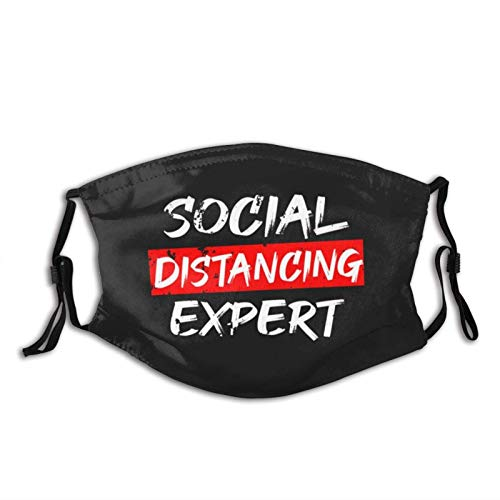 NINGJING Social Distance Expert Washable Mask Protects Cold, Suitable for Running, Fishing Cycling and Shoping