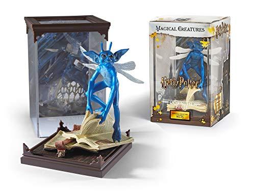 Noble Collection Harry Potter Figurita Coleccionable GNOME Pixie con Pantalla de Criaturas mágicas