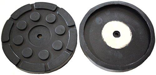 140x17mm Gummiauflage für z.Bsp. Hofmann Hebebühne Gummi-Unterlage Auflage Wagen-Heber rund Auto Klotz Rangier-Wagenheber Puffer Reifen Reifenwechsel LKW Räder KFZ Tuning Zubehör
